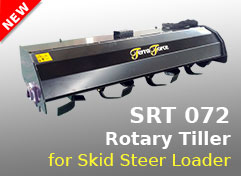 Rotary Tiller SRT072 For Skid Steer Loader